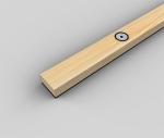 Рейка деревянная SoundGuard ВиброЛайнер 1525х47 т.24мм (шт)