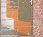 "Звукоизоляция стены - каркасная система ""Стандарт"""