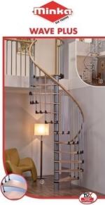 Винтовые лестницы Wave Plus